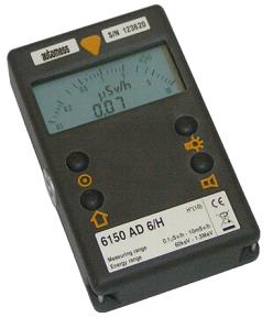 放射線測定器|6150AD6/H